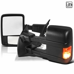 Black LED Towing Mirrors (Heat Function)