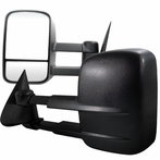 Black Power Towing Mirrors