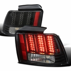 Black Sequential LED Tail Lights