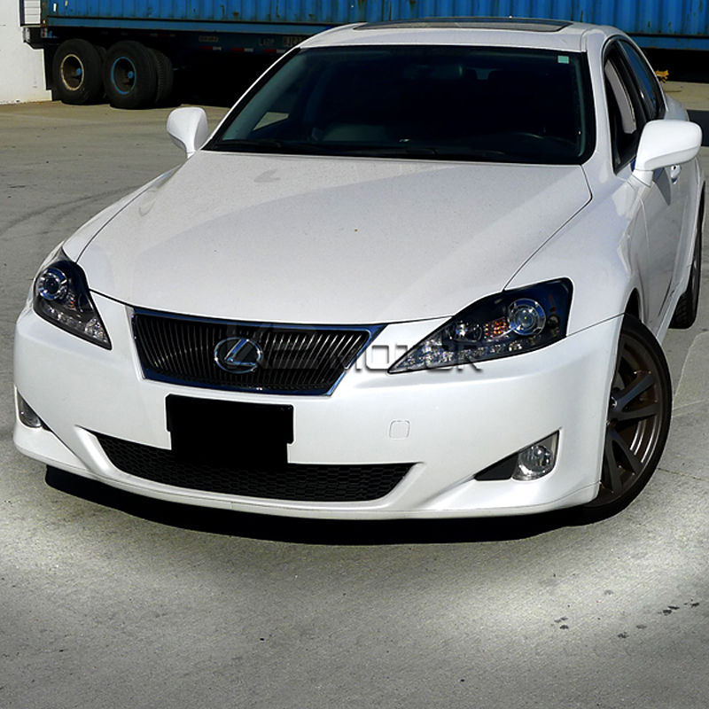 2006 2009 Lexus Is250 Is350 Smd Led Strip Black Projector