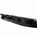 Black Steel Rear Bumper Guards