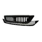 Black Verticle Front Grille