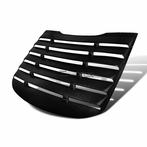 Black Vintage Style Rear Window Louver