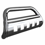 Bull Bar with Skid Plate (Stainless Steel)