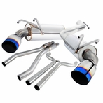 Burnt Tip Dual Catback Exhaust System