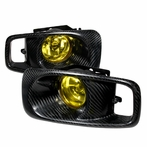 Carbon Fiber JDM Style Fog Lights Kit