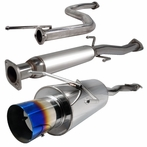 Catback Exhaust with Titanium Tip