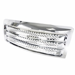 Chrome ABS Front Grille (Round Hole Style)