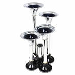 Chrome Air Horn x4 Kit
