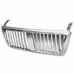 Chrome Bold Vertical Grille