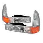 Chrome Corner Lights + Bumper Signal Lights