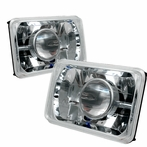 Chrome Crystal Projector Headlights (4x6)