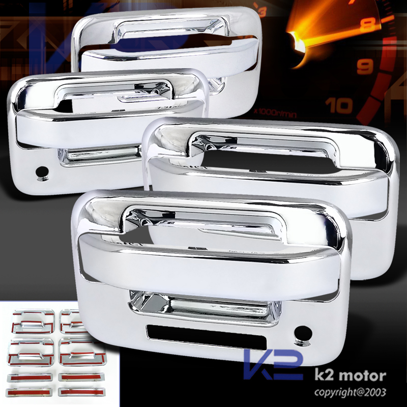 2004 2012 Ford F150 C2 Chrome Door Handle Covers
