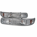 Chrome Euro Bumper Lights