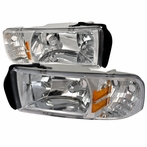 Chrome Euro Headlights