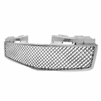 Chrome Front Honeycomb Mesh Grille