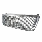 Chrome Front Mesh Grille