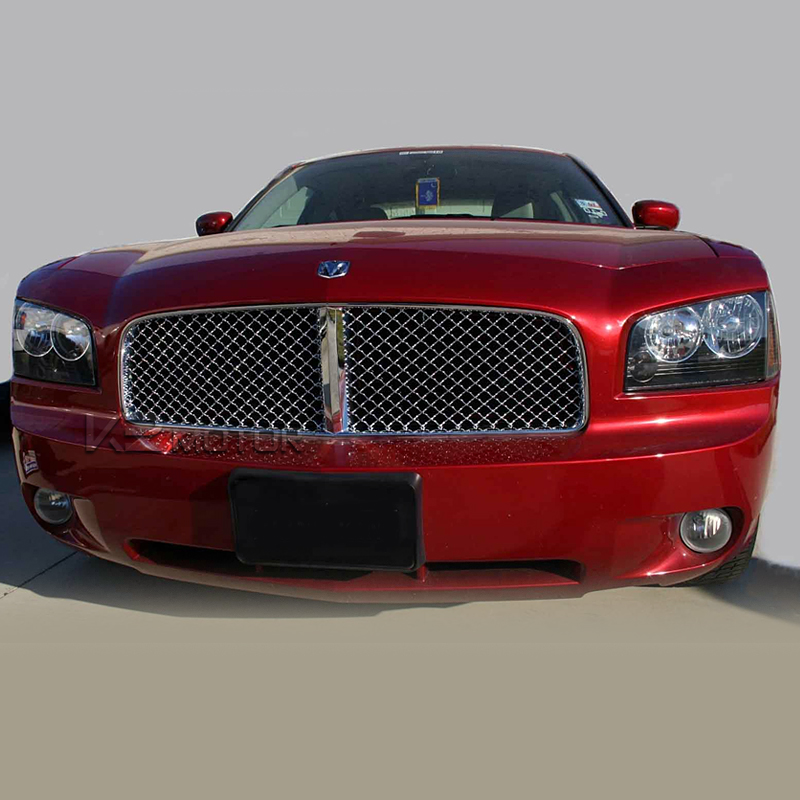 2011 2013 dodge charger front mesh grille. Black Bedroom Furniture Sets. Home Design Ideas