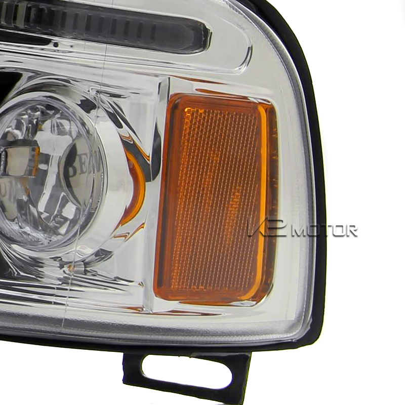 94-01 Dodge Ram Dual Halo LED Projector Headlights w/Amber ...