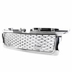 Chrome Honeycomb Mesh Grille