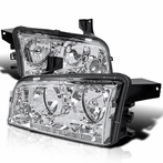 Chrome Housing Headlights