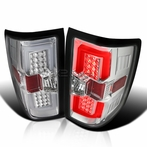 Chrome Housing LED Tail Lights