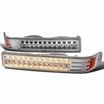 Chrome LED Bumper Lights