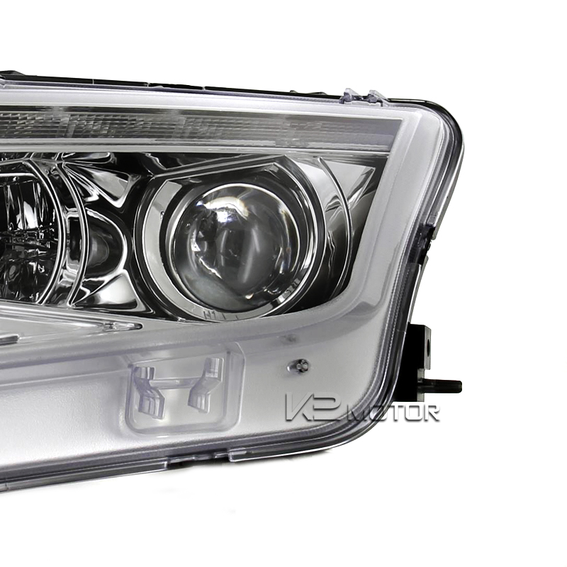 2010 up ford fusion led projector headlights chrome. Black Bedroom Furniture Sets. Home Design Ideas