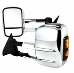 Chrome LED Towing Mirrors (Manual)