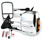 Chrome LED Towing Mirrors (Power)