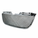 Chrome Mesh Grille Bentley-Style
