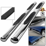 Chrome Ovel Side Step Bars