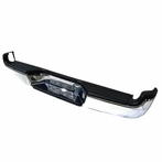 Chrome Rear Bumper Step Bar