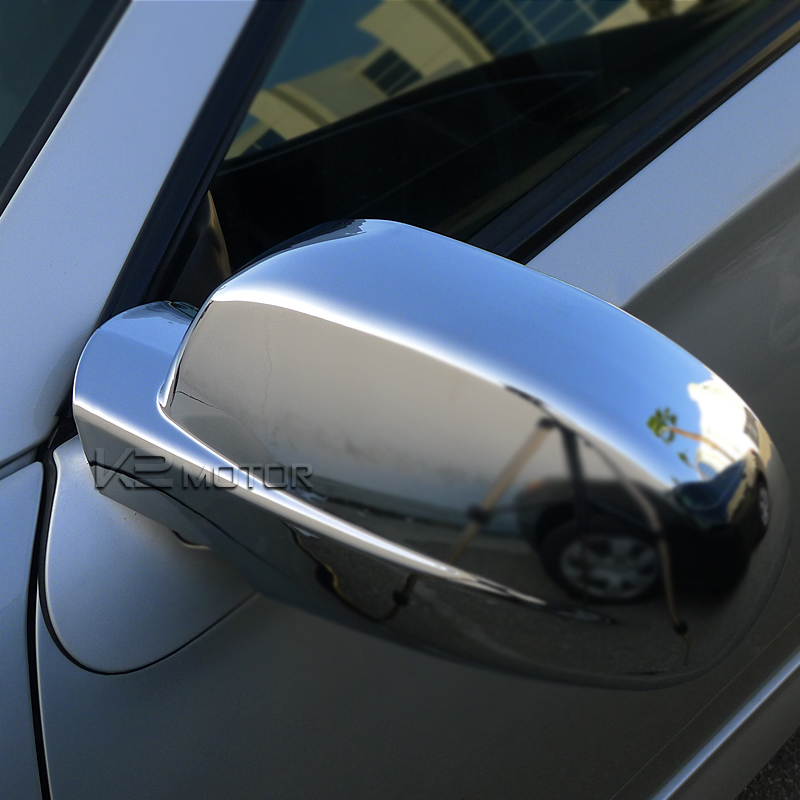 07 12 Chevy Avalanche Side Mirror Cover Chrome