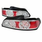 Chrome/Silver LED Altezza Tail Lights