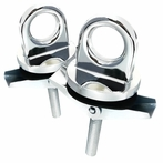 Chrome Truck Bed  Anchor Hooks