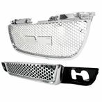 Chrome Upper & Lower Front Grille