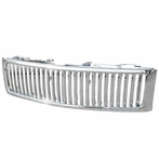 Chrome Vertical Front Grille