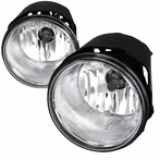Clear/ Chrome OEM Style Fog Lights