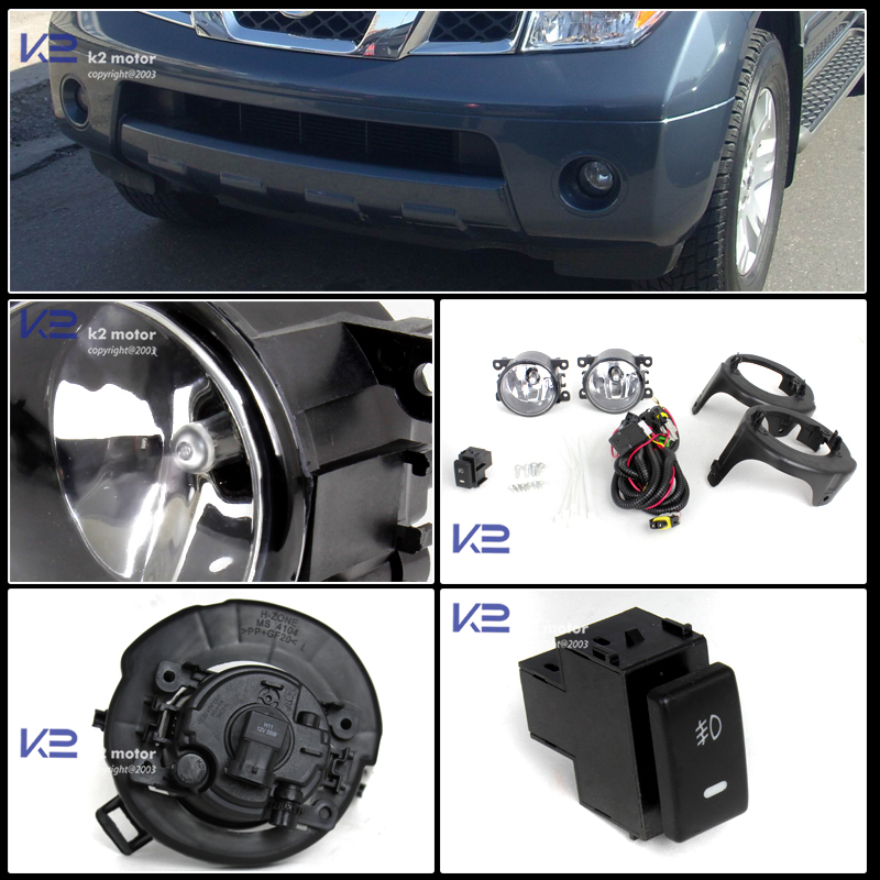 clear-fog-lights-wiring-and-switch-kit-24 Nissan Frontier Fog Light Wiring Harness on