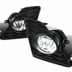 Clear LED Fog Lights Kit