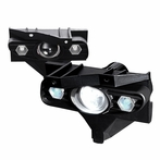 Clear LED Projector Fog Lights