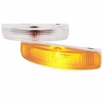 Clear Side Marker Signal Lights