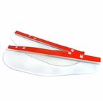 Clear Side Mirror Visor (2PC)