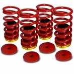 Coilover Springs High Low Kit (Red)