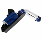 Cold Air Intake + Blue Filter with Heat Shield