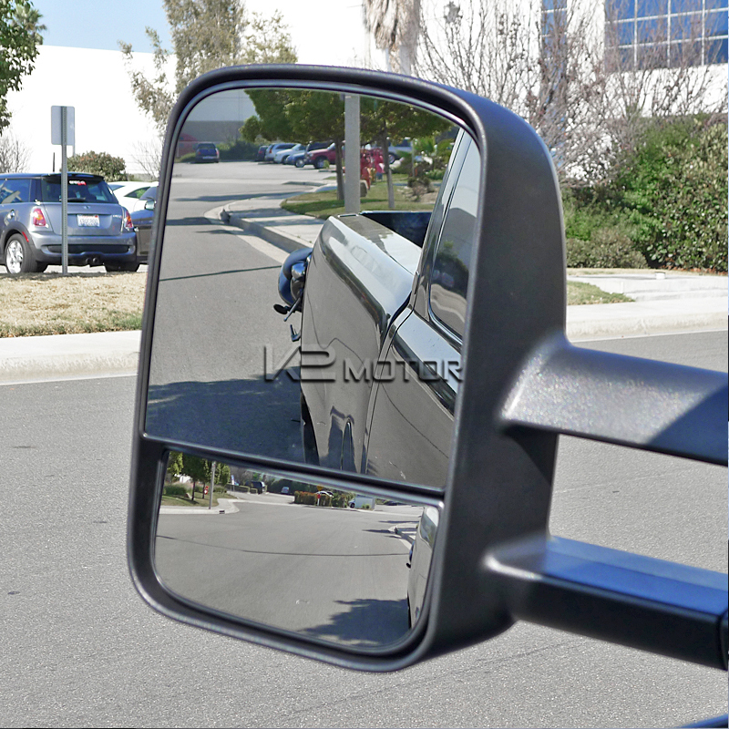 Extending Towing Mirrors With Heat Function Power Inset 3