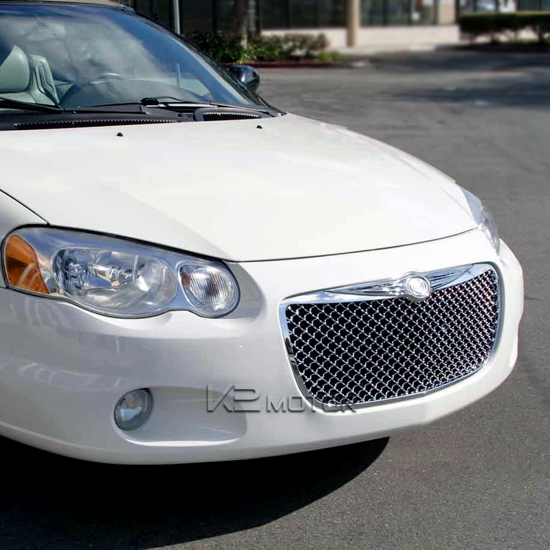 how to take the front grille out 2006 chrysler sebring