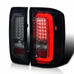 Glossy Black LED Bar Tail Lights