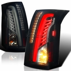 Glossy Black/Smoked LED Tail Lights